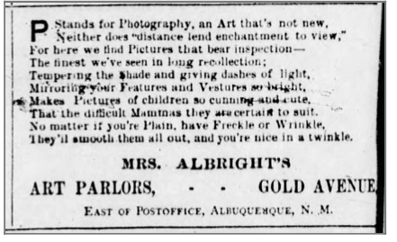 Albuquerque Albuquerque Journal Tue, Dec 25, 1883