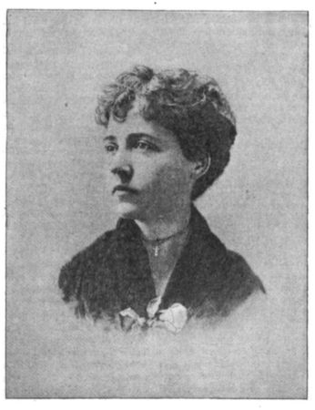 Photo of Sallie E. Garrity, <em>The Photographic Times</em> March 7, 1890
