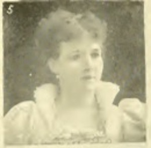 Franc Luse Albright, Lady Manager, 1893 Columbian Exposition