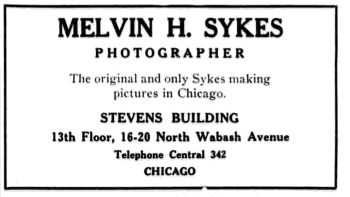 Melvin Sykes ad after Mabel gets remarried, Chicago Eagle, June 29 1918