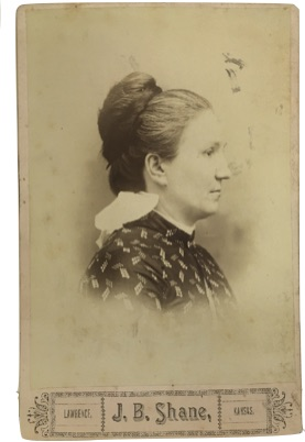 Photo of Missouri L. Shane (courtesy Spencer Library, KU, RH-PH-500:2.7)