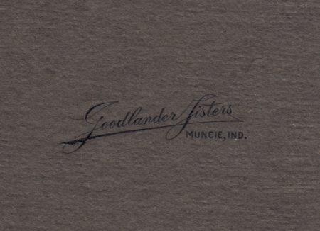 Goodlander Sisters Studio Stamp