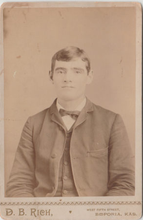Cabinet card by D. B. Rich (McIntyre-Culy Collection)