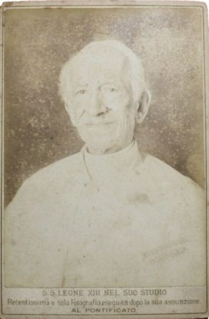 Cabinet Card of Pope Leo XIII (McIntyre-Culy Collection)