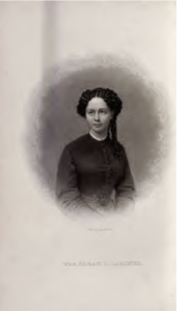 Portrait of Sarah Larimer from her book