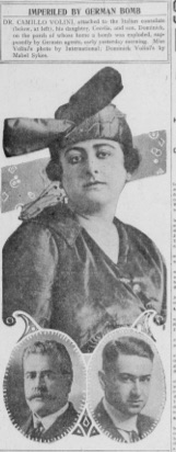 Photo by Mabel Sykes, Chicago Examiner, December 31, 1917