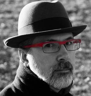 Chris Culy, self-portrait