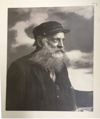 [Portrait of a Ship Captain] by Miss Libby. Original Photo at the Library of Congress [digital photo by L. Lee McIntyre]