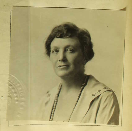 Margaret O'Donnell (passport photo, 1923)