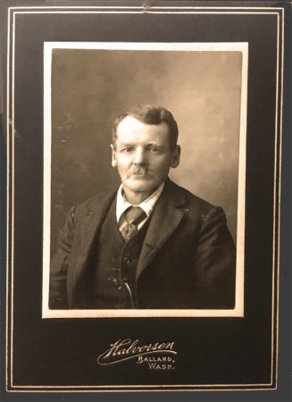 Cabinet card from the Halvorsen Studio (Mcintyre-Culy Collection)