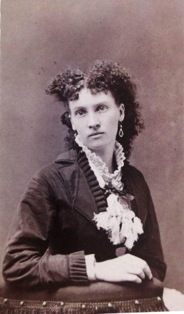Detail of CDV, Kimball's Photograph Studio, 1878 (M. Frank Kimball, proprietor)