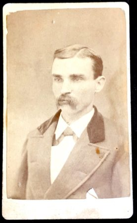 CDV by Mrs. F. M. Hurd, Photo of a man with a mustache (McIntyre-Culy collection