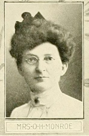 Mrs. O.H. Monroe (from the 1903 book on Elyria, Ohio)