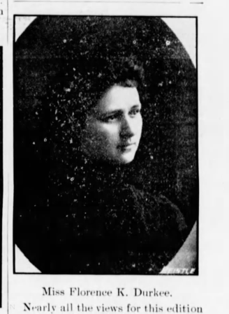 Florence K. Durkee, 1903