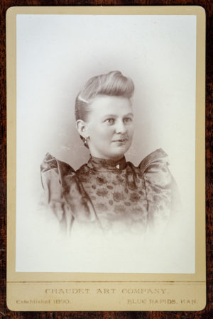 Chaudet Art Company Cabinet card (courtesy Tom Parker)