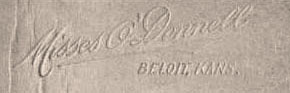 Misses O'Donnell Signature