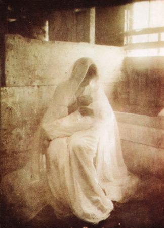 Gertrude Käsebier's pictorialist work, The Manger, 1899