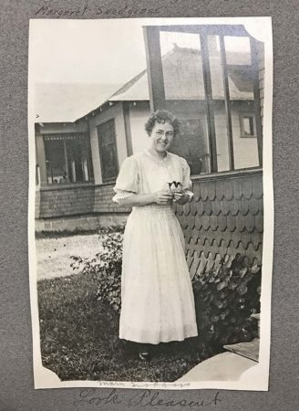 Mary Snodgrass, circa 1915 (photo in Dr. Boone's album; courtesy Robert E. Smylie Archives, College of Idaho)