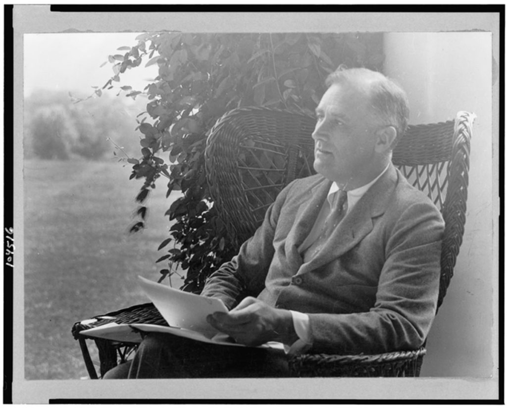Portrait of FDR by Margaret DeM. Brown, Library of Congress